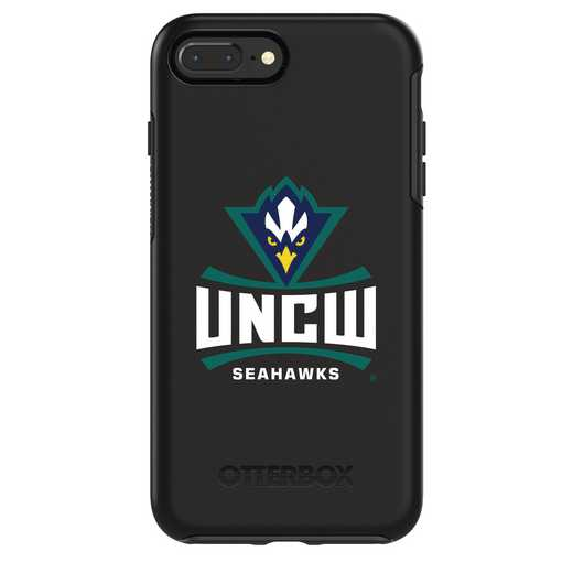 IPH-87P-BK-SYM-UNCW-D101: FB UNC Wilmington OB SYMMETRY IPN 8 PLUS AND IPN 7 PLUS